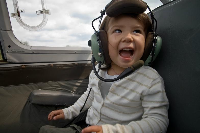 copil primul zbor