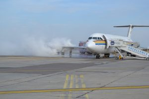 accident aviatic otopeni