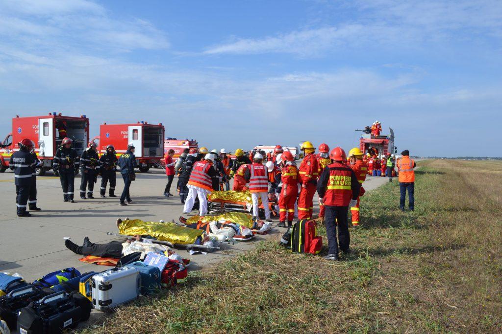 accident aviatic otopeni 2017