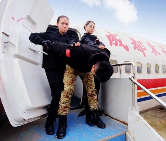 teroristi insotitoare de bord
