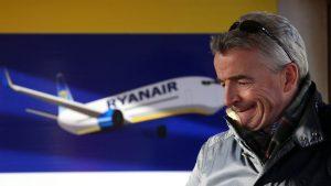 Ryanair anulează alte 18.000 de zboruri