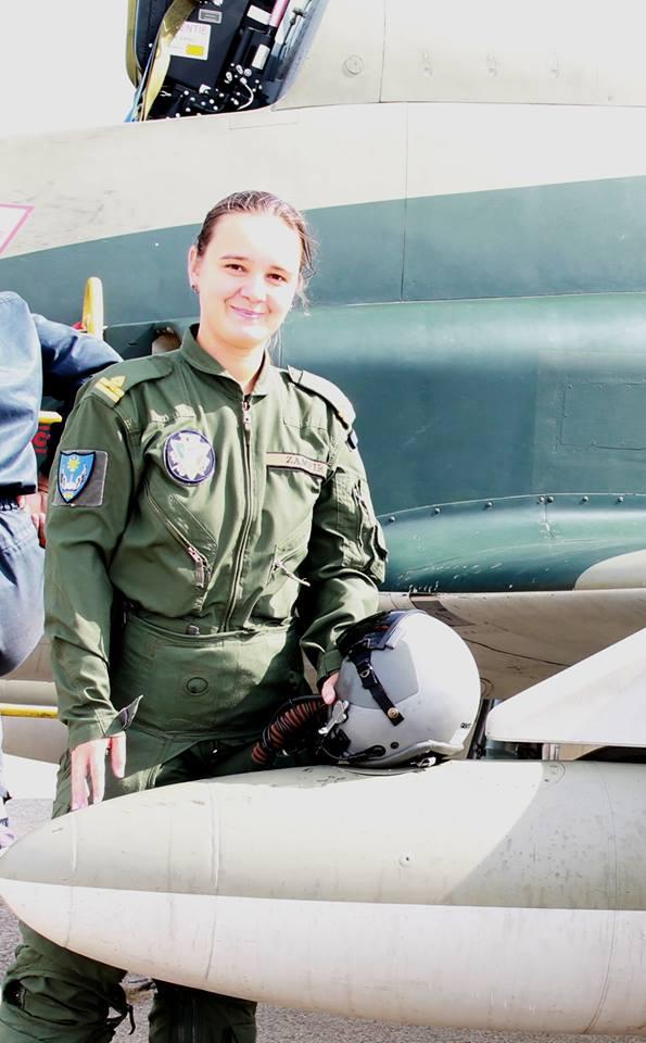 Lt. Diana Zamfir IAR99