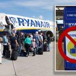 Noua politică de bagaje Ryanair