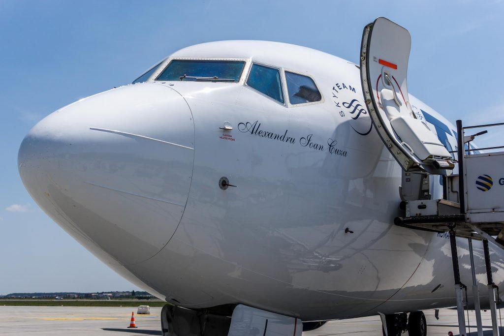 noile aeronave Boeing TAROM