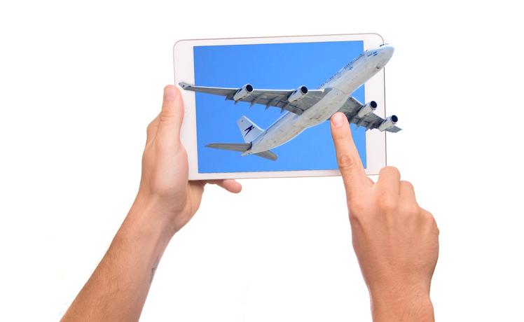 Aplicații smartphone pentru frica de zbor
