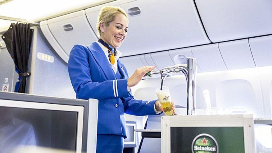 alcool in avion