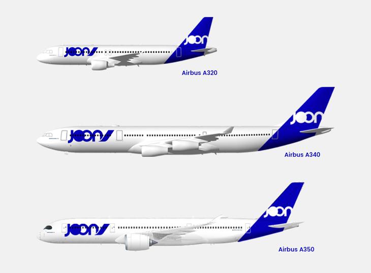 flota joon airlines