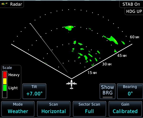 radar meteo avion