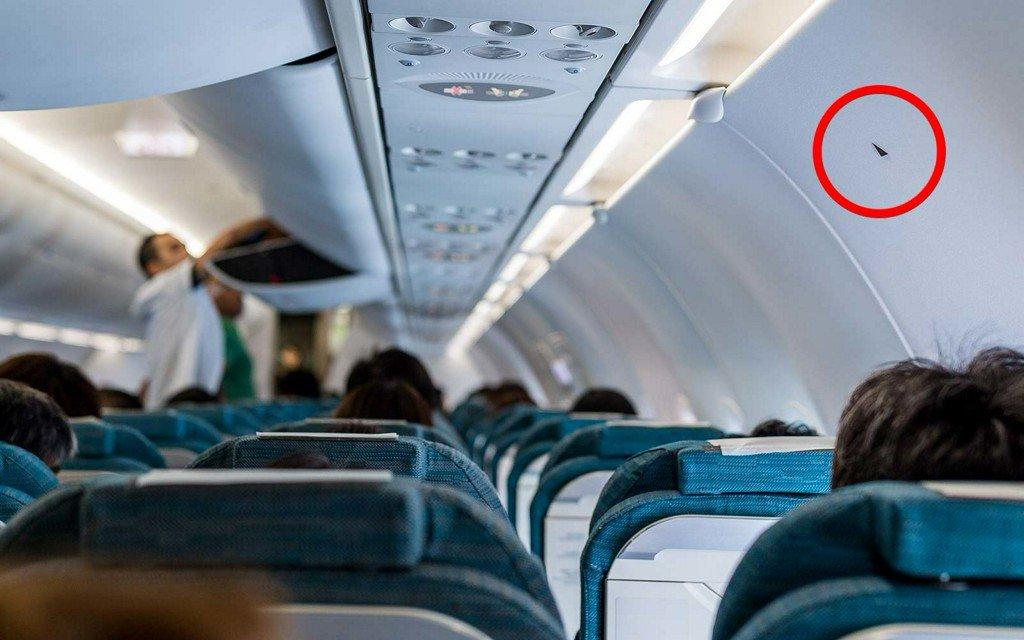 locul din avion
